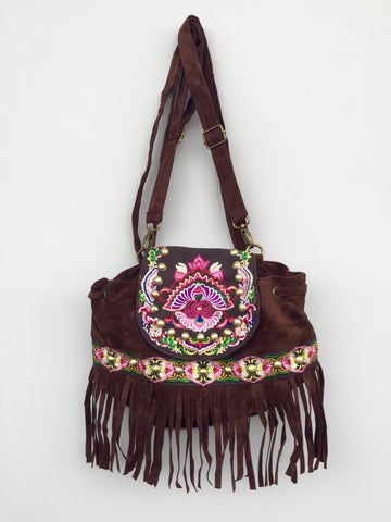 Indian Sweet Fringe Backpack