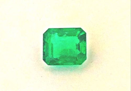3.57ct Emerald Cut Natural African Emerald - Good Luster
