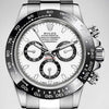 Rolex Daytona Stainless Steel Ceramic Bezel White Dial 40mm