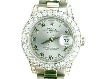 ROLEX PRESIDENT 26mm 18K WHITE GOLD 179239 MINT