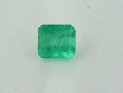 2.68ct Natural Columbian Emerald Cut Emerald 8.5mm x 7.7mm