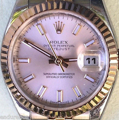 ROLEX DATEJUST LADIES WATCH TWO TONE MODEL 179171