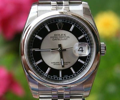 ROLEX MENS DATEJUST 116200 STEEL NEW UNWORN