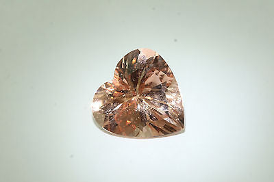 15.50ct Pink Heart Shape Morganite - RARE 18mm