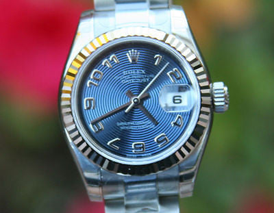 ROLEX WATCH LADIES STEEL DATEJUST 179174 UNWORN