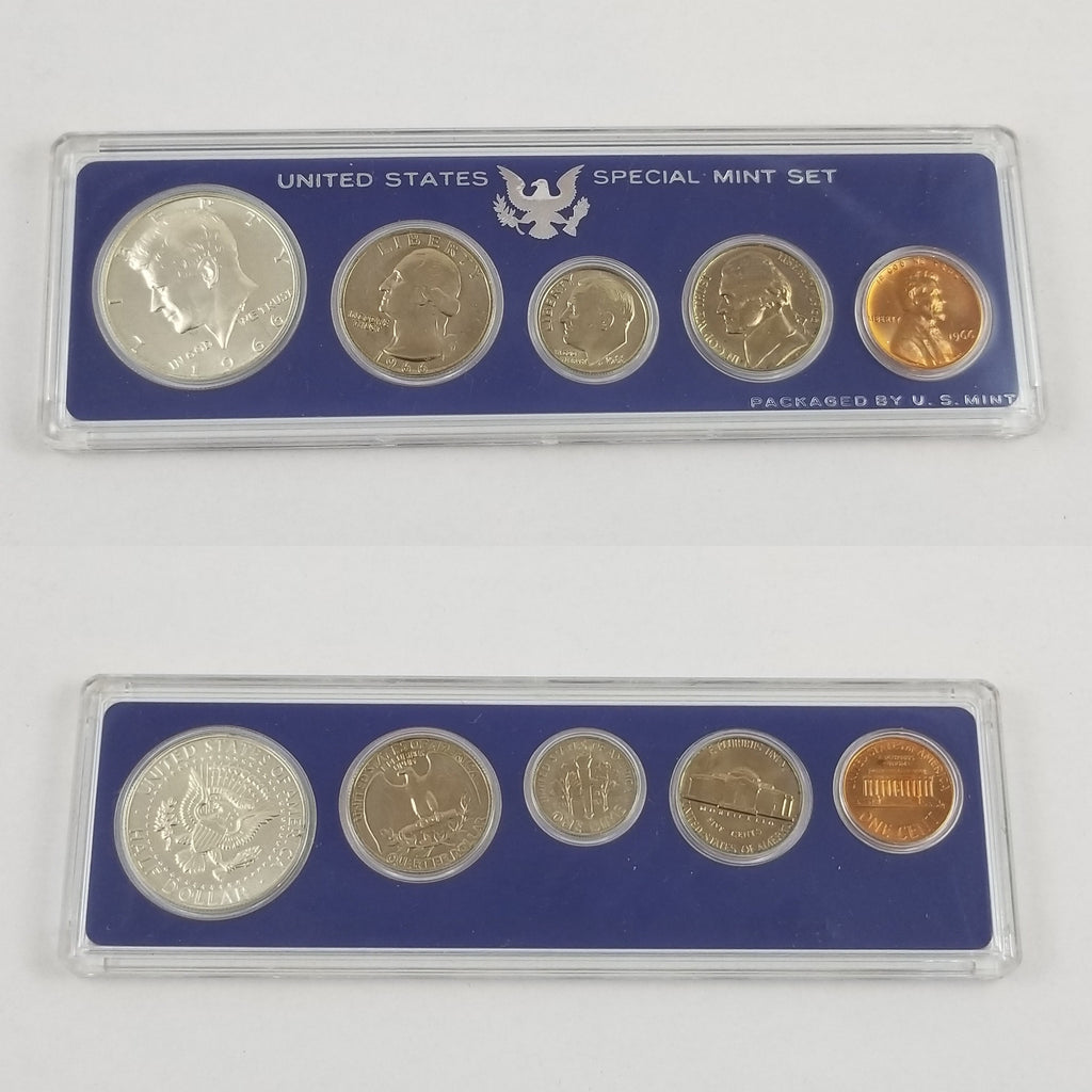 1966 P United States Special Mint Set GEM BU - Brilliant Uncirculated