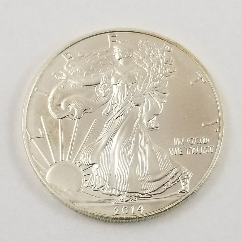 2014 American Eagle 1oz .999 Fine Silver - $1 Uncirculated Bullion Ounce Dollar