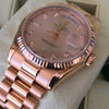 Rolex Day-Date Presidential 36mm Pink Rose Gold 118235 Diamond Dial