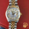 Rolex Datejust 36mm 16233 or 16013 18k Yellow Gold Stainless Steel Diamond Dial
