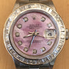Rolex Datejust Ladies 26mm 79160 Stainless Steel Diamond Dial Baguette Bezel