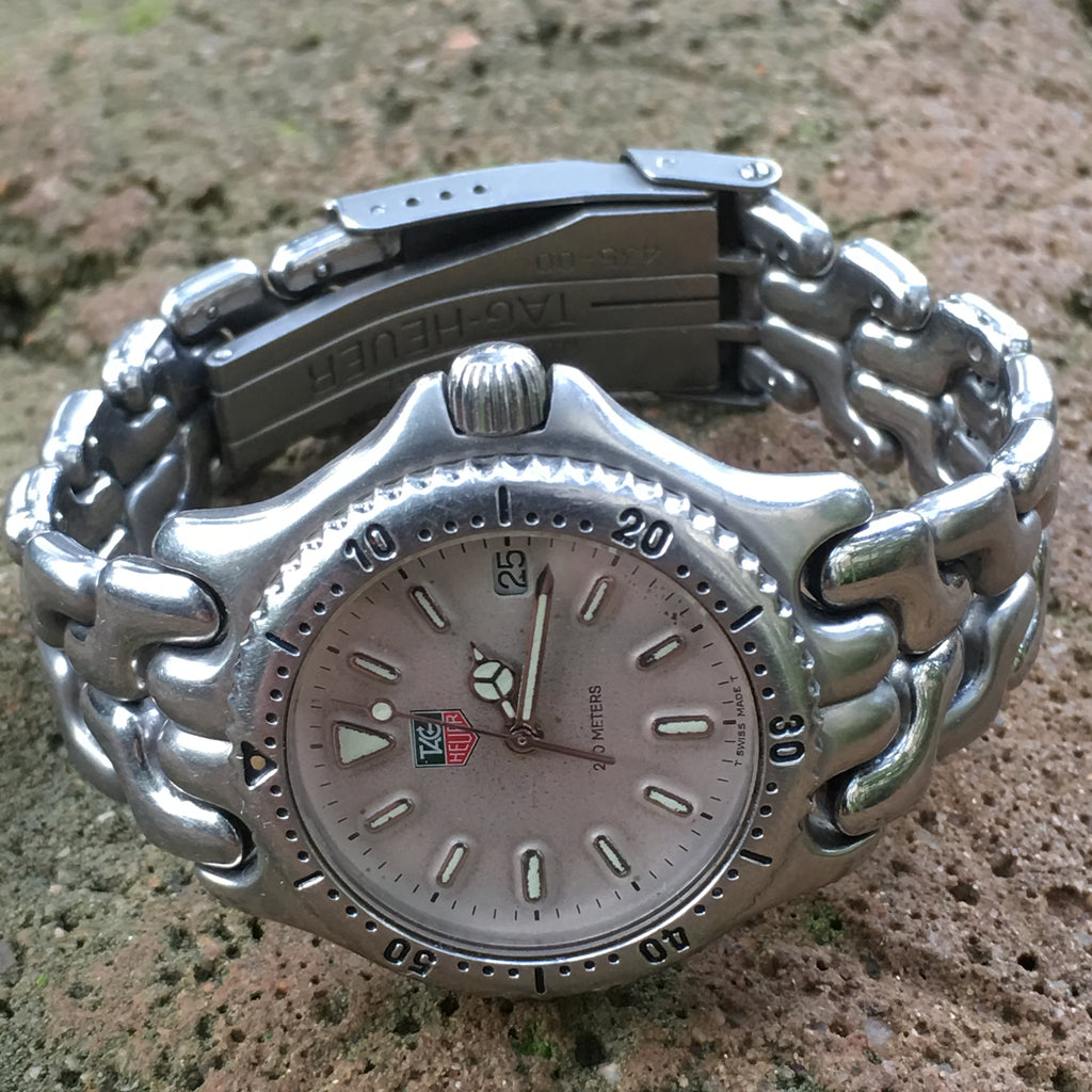 TAG Heuer Professional 200 Stainless Steel Midsize Quartz Watch 34mm