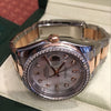 Rolex 36mm Datejust 116201 Rose/Pink Gold Steel Diamond Bezel MOP Dial