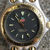 TAG Heuer Link Professional Gold & Stainless Steel Mens S 95.206 E Watch Quartz