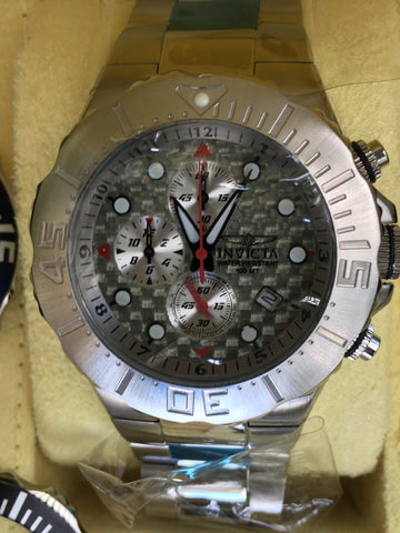 INVICTA 2934 / 2935 I36 3 Bands 6 Bezels 45mm Stainless Steel Diver Chronograph