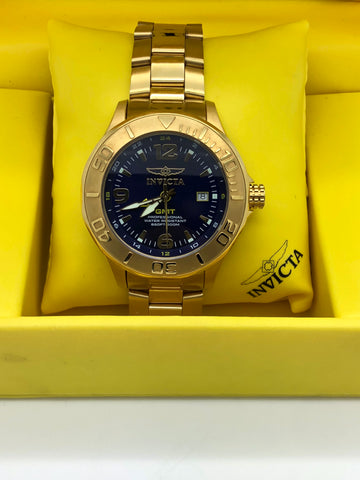 INVICTA 6340 Ocean Ghost III Pro Diver Gold Plated Stainless Steel 47mm GMT