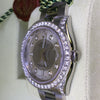 Rolex 116200 Datejust 36mm Mens Stainless Steel Diamond Bezel Dial Lugs