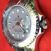 Rolex 169622 Yachtmaster 29mm Ladies Stainless Steel Platinum Dial Bezel