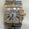 Raymond Weil Ladies Parsifal Stainless Steel Two Tone Diamond Bezel Watch 9790