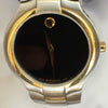 Movado Portico Museum Watch Stainless Steel Yellow Gold Accents