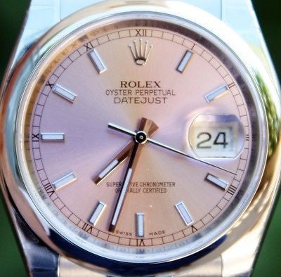 ROLEX STEEL MENS DATEJUST WATCH WARRANTY CARD BOX PAPERS UNWORN BRAND NEW