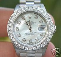 ROLEX LADIES DATEJUST 18K WHITE GOLD PRESIDENT BAND