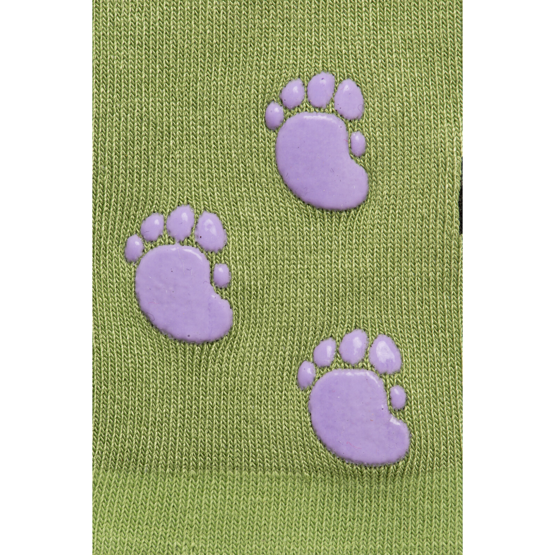 Baby/Kids Bamboo Socks with Grips - Monster