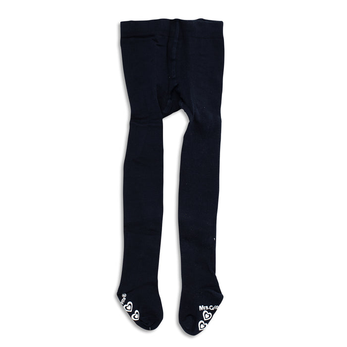 Baby/Kids Tights with Grips - Navy