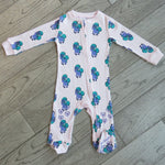 Load image into Gallery viewer, Baby/Toddler Bamboo Onesie with Grips - Pony