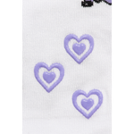 Load image into Gallery viewer, Baby/Kids Bamboo Socks with Grips - Purple Unicorn