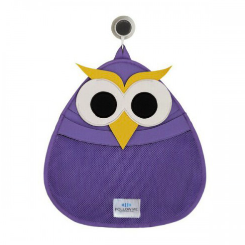 Bath Toy Storage Bag - Owl