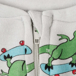 Baby/Toddler Bamboo Onesie with Grips - T-Rex