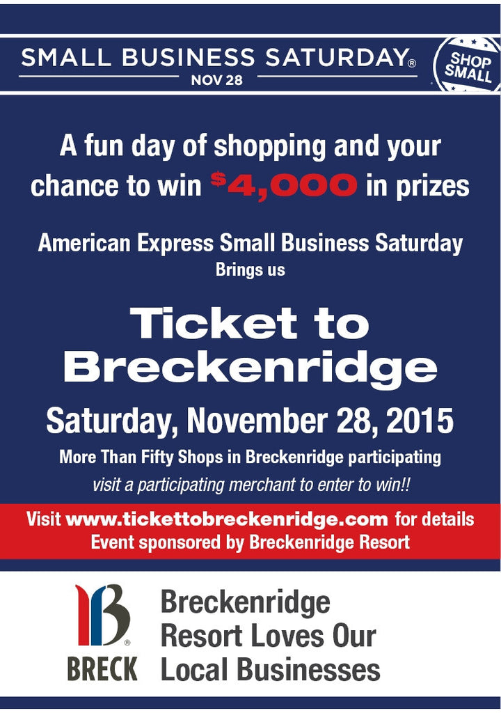 Young Colors celebrates Small Business Saturday with a Ticket to Breckenridge