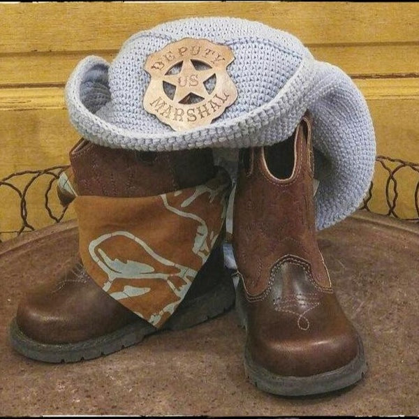 Brown Western Cowboy Boot