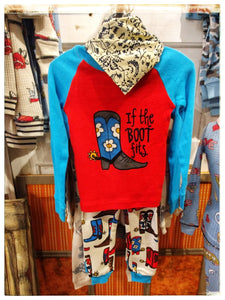 Western Kids PJ's - Toddler