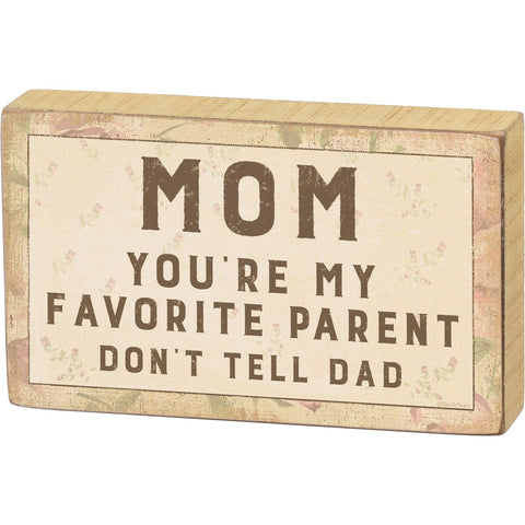 Mom & Dad's Life of Witty Block Signs