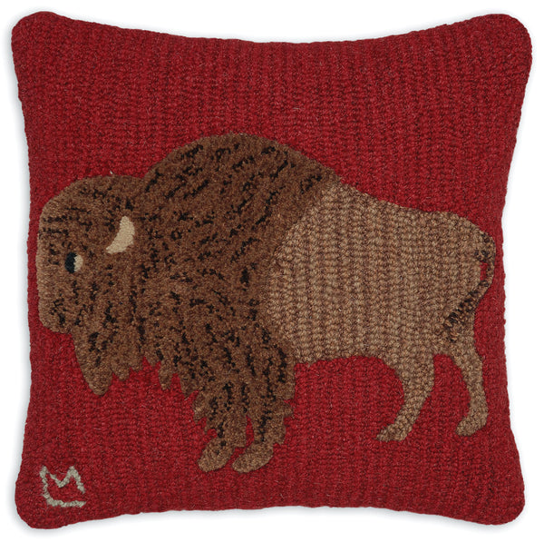 Decorative Western Lodge Hand Hooked Pillows Vermont Collection