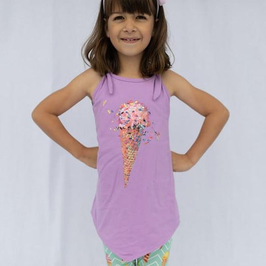 Ice Cream 2 pc Tank & Short Set