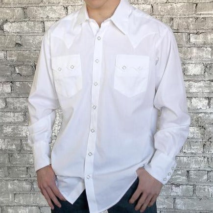 Men's Oxford Ivory Snap Shirts