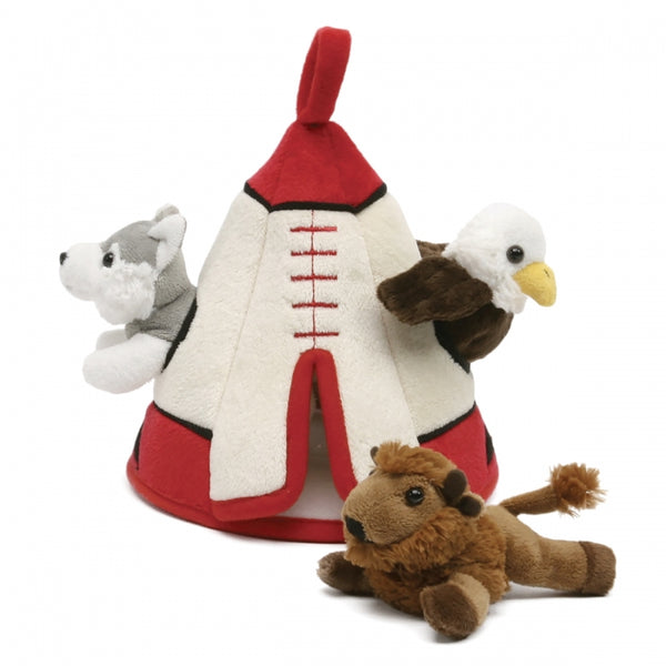 Tee Pee - Small Finger Puppets