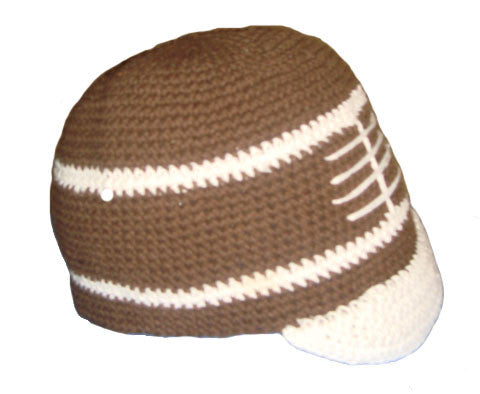 Football Cap - Crocheted