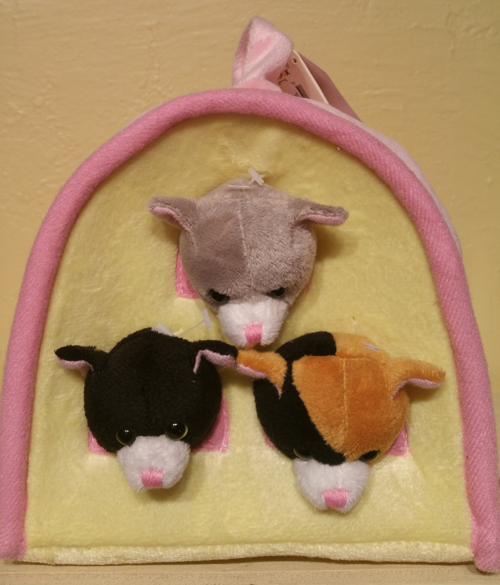 Cat House - Small Finger Puppets
