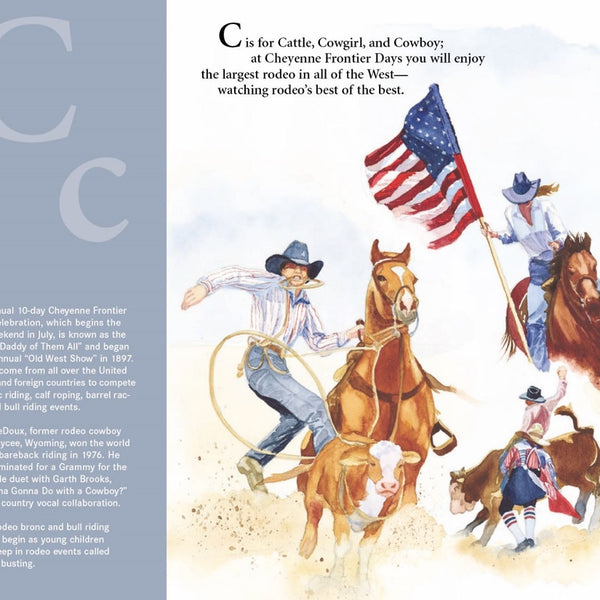 C is for Cowboy: A Wyoming State Alphabet Book