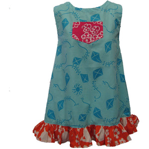 Diane Pocket Dress 1 - Aqua