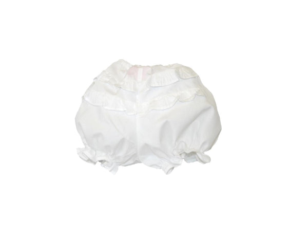 Solid Ruffled Diaper Cover