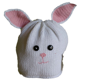Bunny Knit Fleece Hat