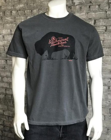 Men's Charcoal Buffalo Logo T-Shirts