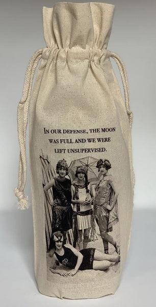 A Few Of My Favorite Things Wine Bag / Moon Was Full Gift