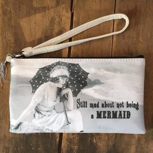 A Few Of My Favorite Things Wristlet Bag / Mermaid Gift