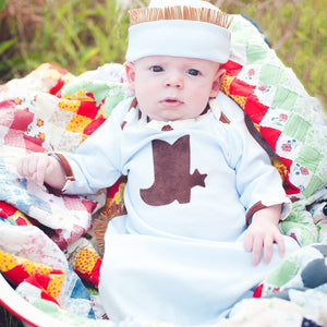 Chuckwagon Baby Gown