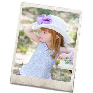 Cowboy Hat - Hand Crocheted - White
